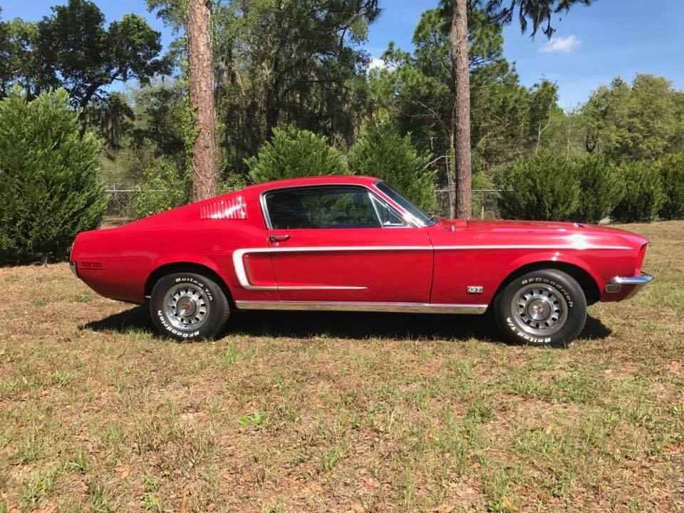 Bullitt Classic Cars 1968 Ford Mustang Gt Lady In