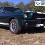 1965 groen Fastback Front low