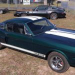 1965 groen Fastback front top