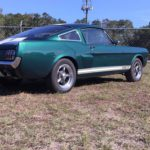 1965 groen Fastback rear low