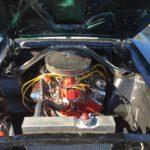 1965 groen fastback motor