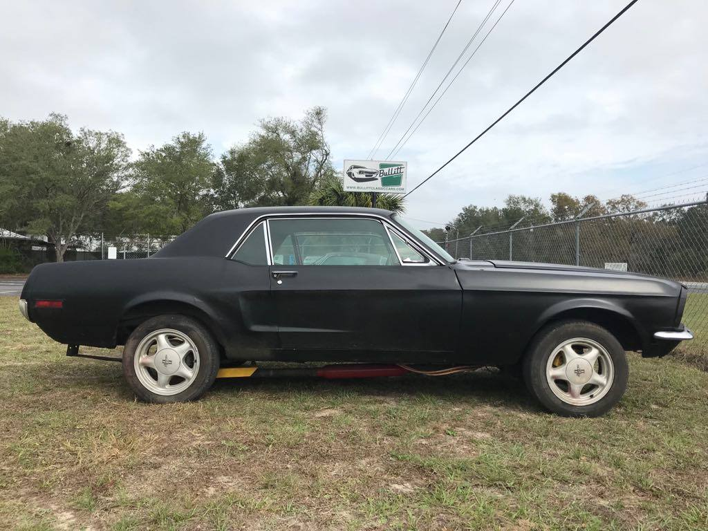 Bullitt Classic Cars | 1968 Ford Mustang Coupe - The Black ...1968 Mustang Coupe Black