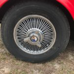 1966 Poppy Whire wheel covers