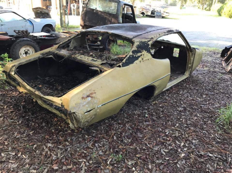 1969 Pontiac GTO - Project car - Bullitt Classic Cars